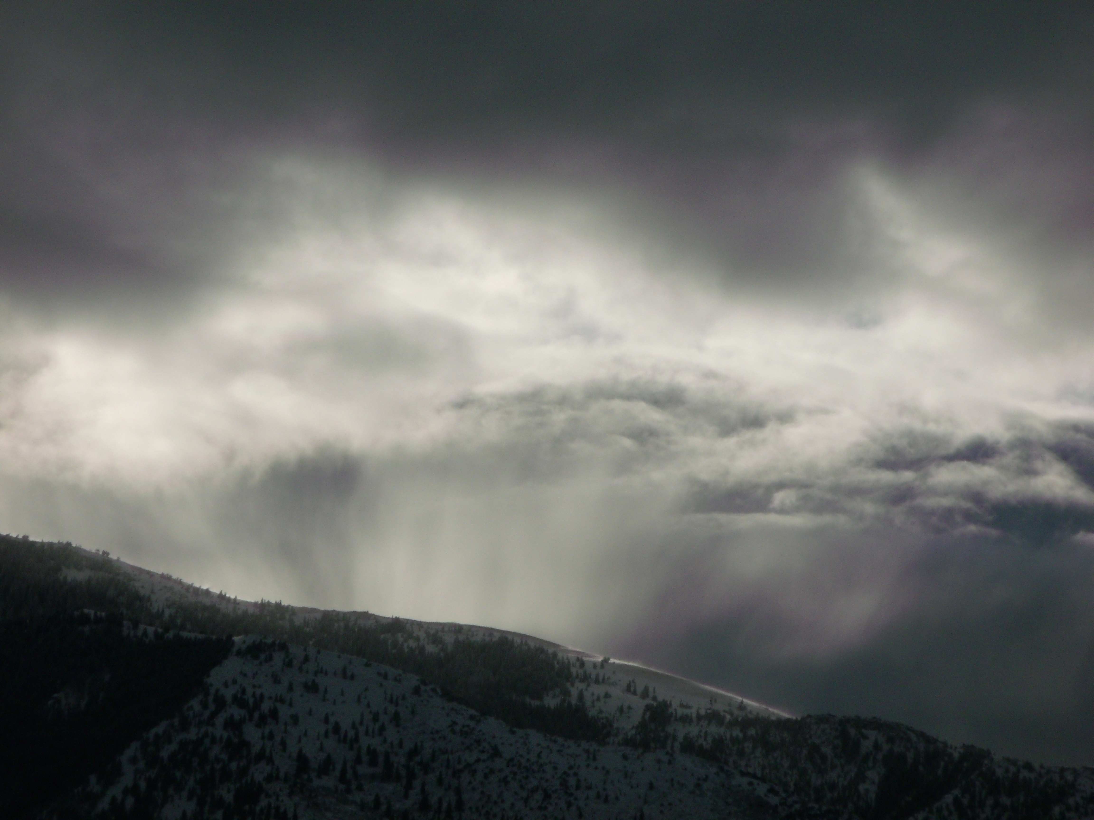 mountain snow clouds - photo #24