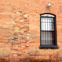 Brick Door and Window