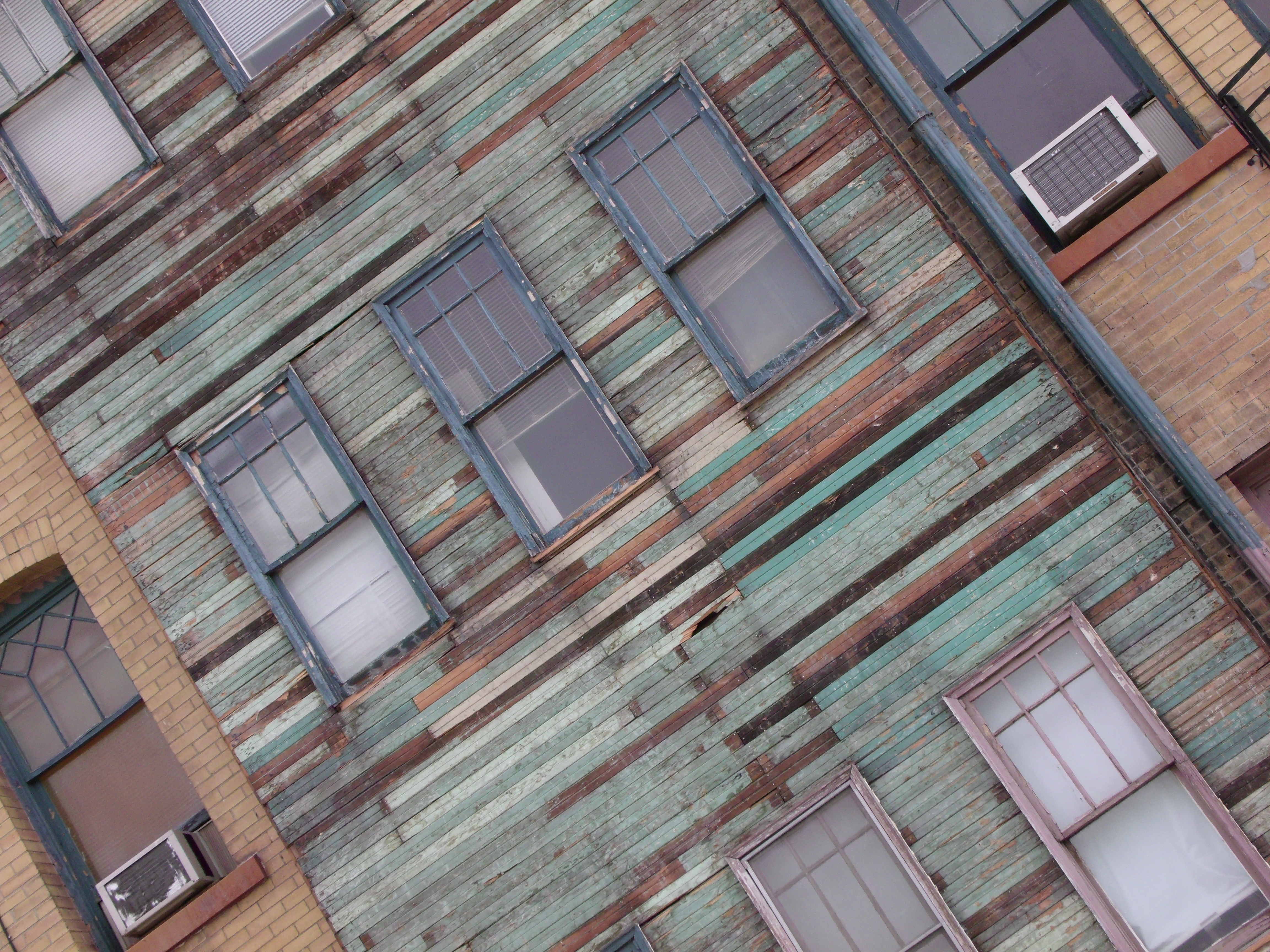 Windows and Wood #7E604D