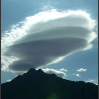 Clouds over Mount Olympus
