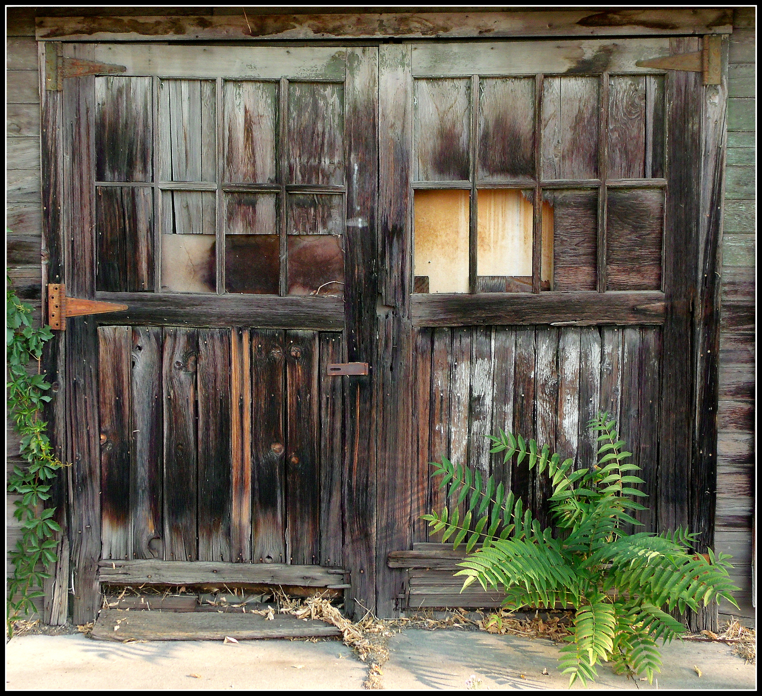 Old wooden door scott 39 s place images and words - How to use old doors and windows ...