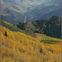 Big Cottonwood Canyon in the Fall