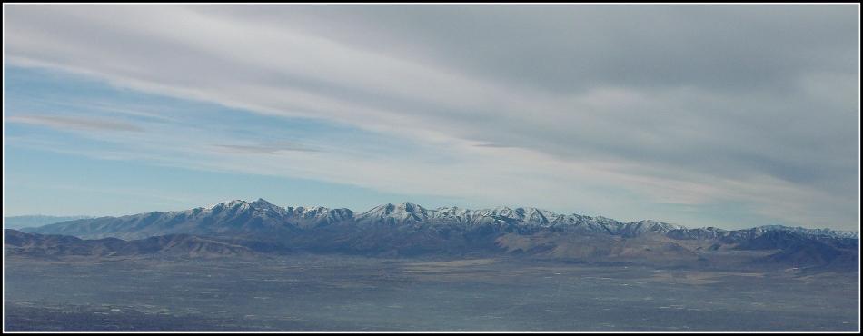Oquirrh Mountain Panorama