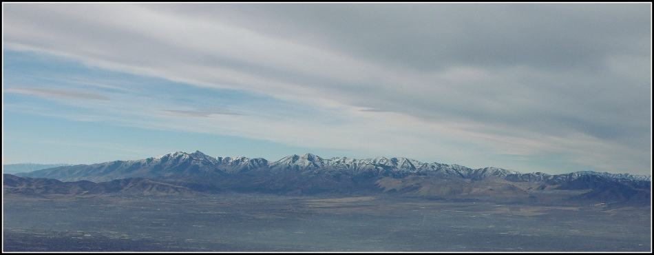 Oquirrh Mountain Panorama