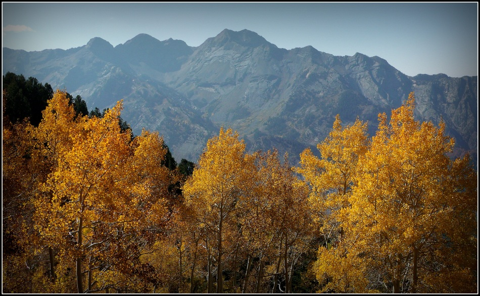Twin Peaks from afar in September