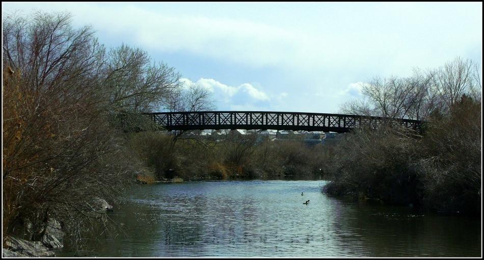 Bridge over the Jordan River, Utah