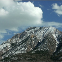 Clouds over Mt. Olympus