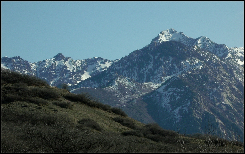 Twin Peaks from Dimple Dell Trail