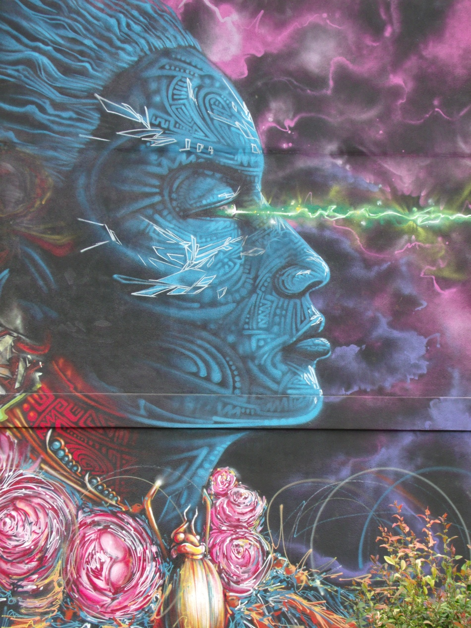 2020 Mural woman portrait