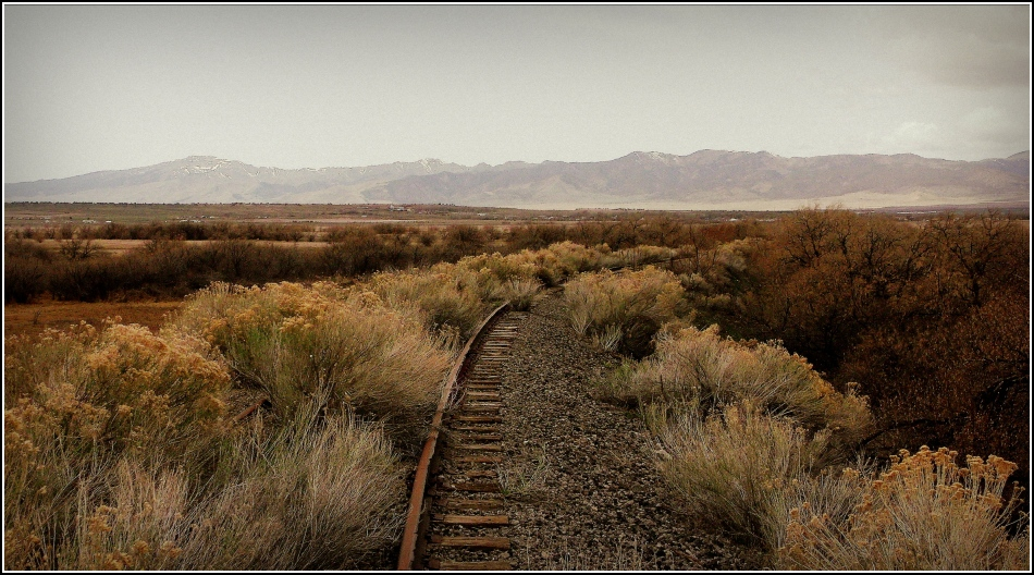 Single rail to the past, Goshen Utah