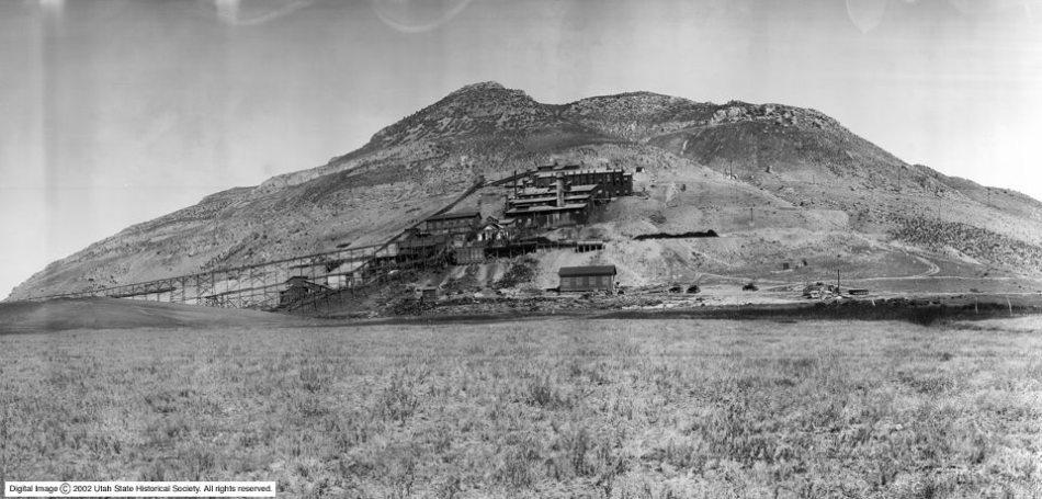 Tintic Standard Reduction Mill Utah State Historical Society Digital Image - Copyright 2002