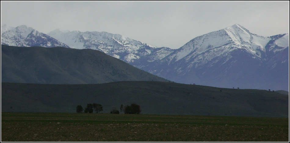 Cedar Fort mountain vista