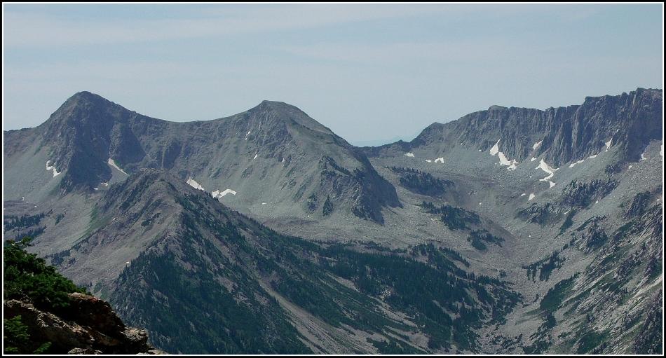 Pfefferhorn and ridge