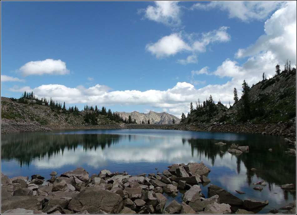 White Pine Lake in August 1