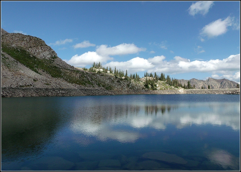 White Pine Lake in August 3