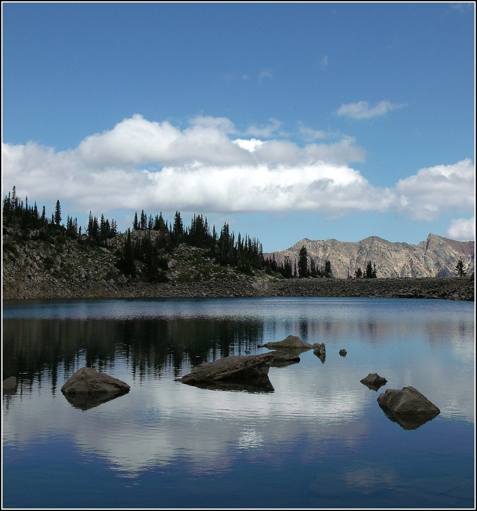 White Pine Lake in August 4