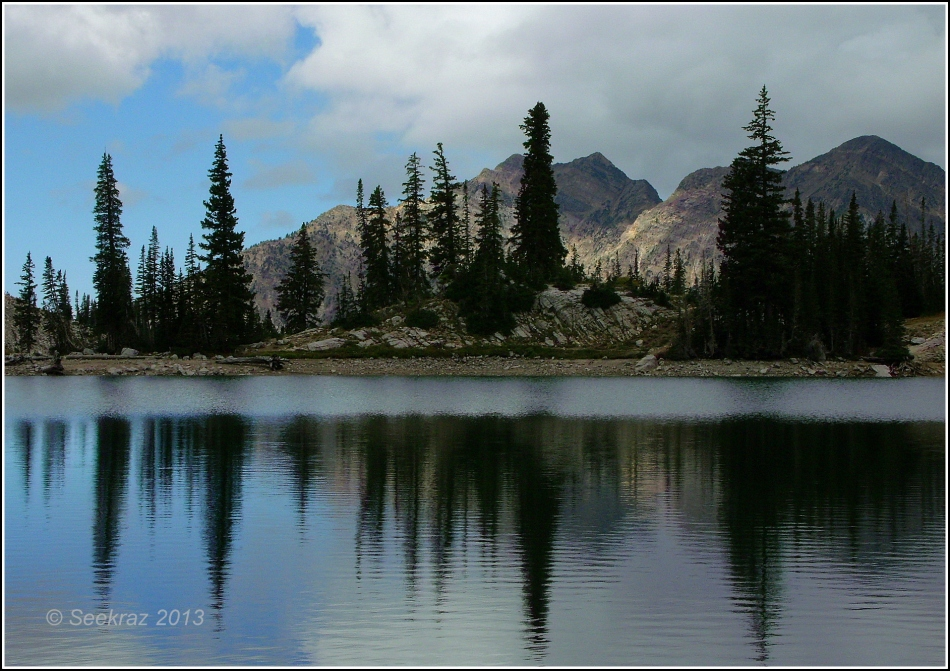 Red Pine Lake, Wasatch Mountains, Utah
