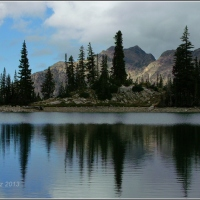Red Pine Lake reflections