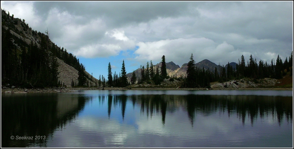 Red Pine Lake panorama