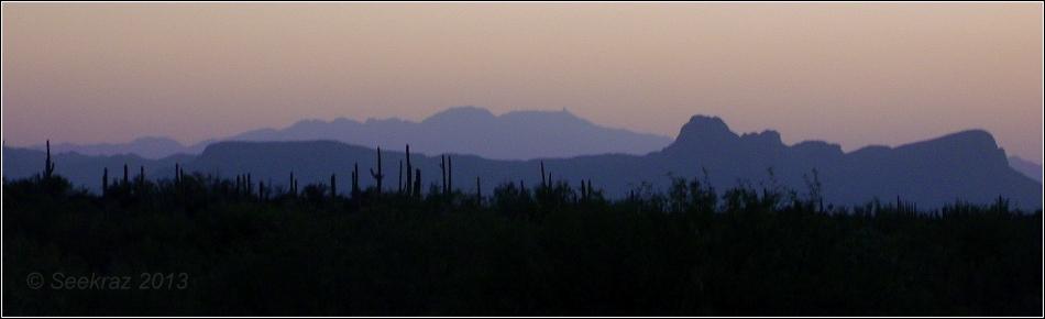 Tucson Mountain Silhouette 2