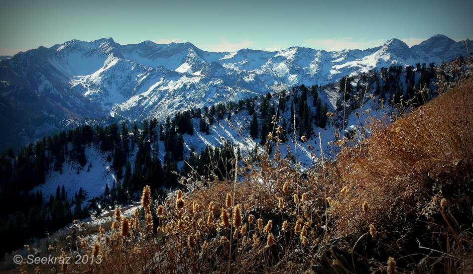 Wasatch Mountain Fall Panorama