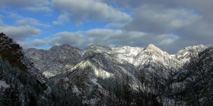 Big Cottonwood Canyon Ridge