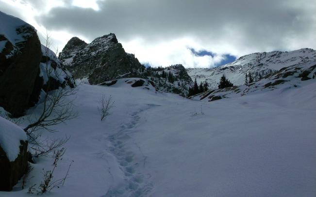 Final Steps to Lake Blanche