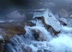 Condensation on the lens…Little Cottonwood CanyonStream