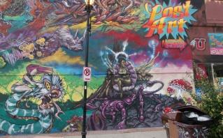 Korner Market mural right panel