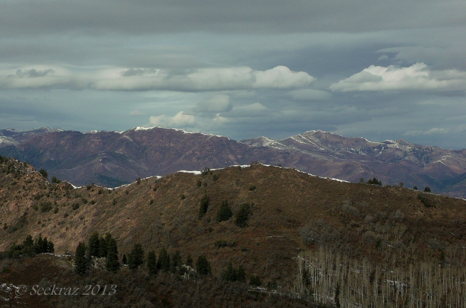 Near-Winter in the Wasatch