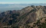 Oquirrh Mountain panorama from MtRaymond