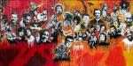 Utah Arts Alliance Legends mural – mid-leftpanel