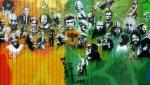 Utah Arts Alliance Legends mural – mid-rightpanel