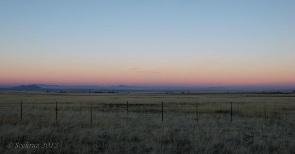 Utah interstate sunrise
