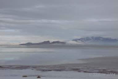 Fremont Island...north and west of Antelope Island.