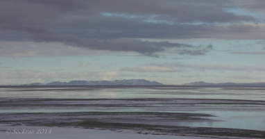 Carrington Island from the causeway...west of Antelope Island.