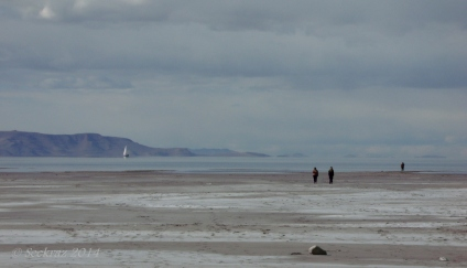 The water level of The Great Salt Lake is incredibly low....