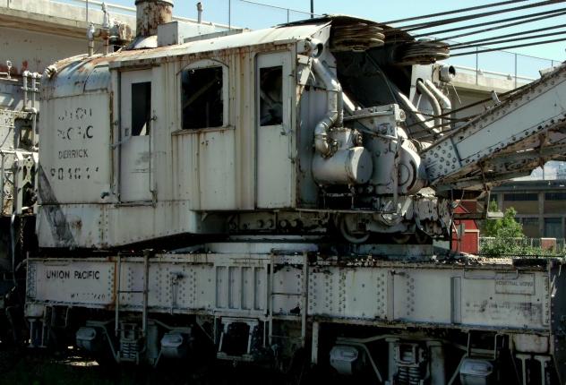 Union Pacific derrick
