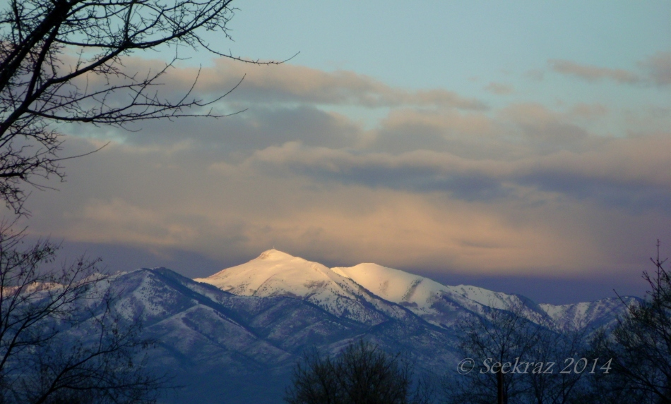 Oquirrh Morning Mountains
