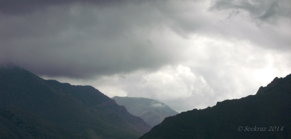 Low clouds over Wasatch Mountains 4