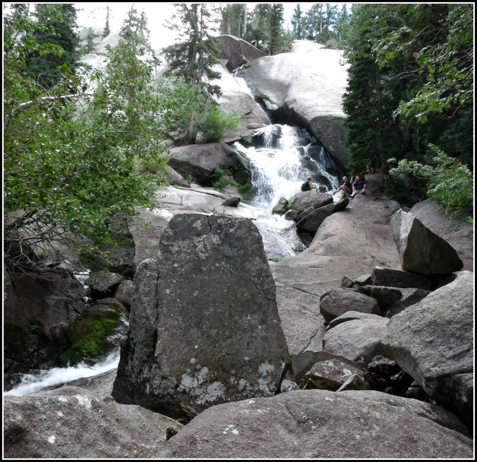Bells Canyon Upper Falls, August 2013