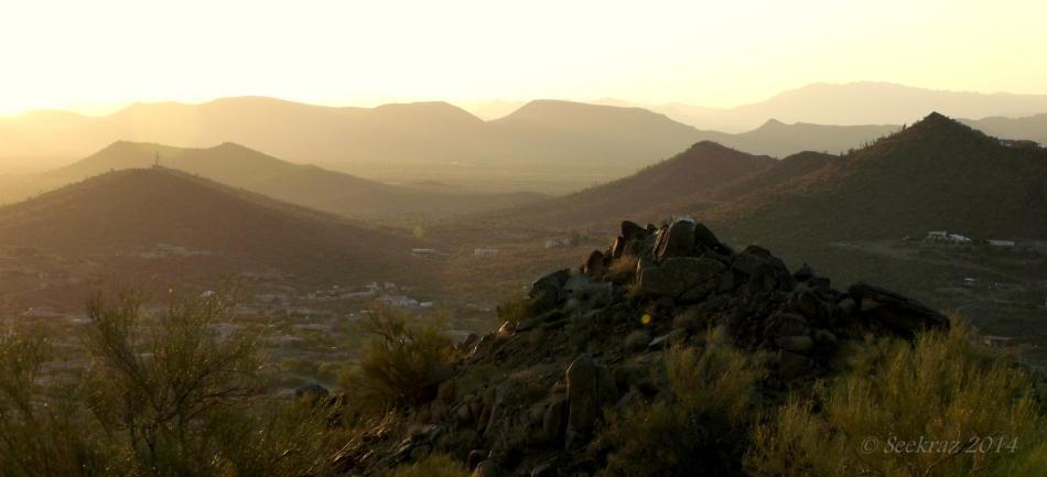 Desert Hills sunset