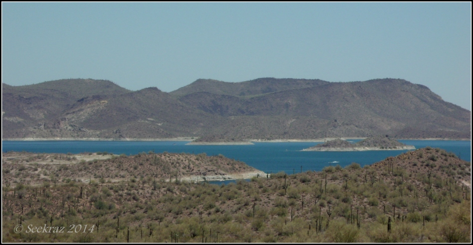 Lake Pleasant Panorama