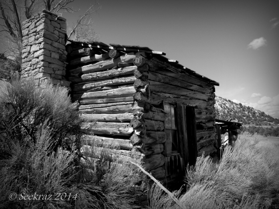 South of Panguitch homestead ruins 2