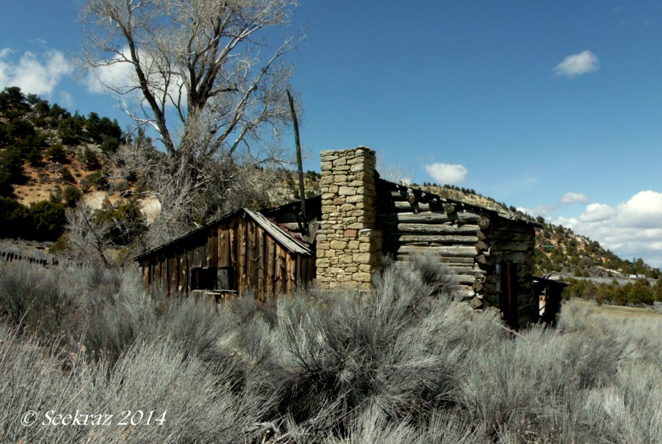 Homestead ruins south of Panguitch Utah