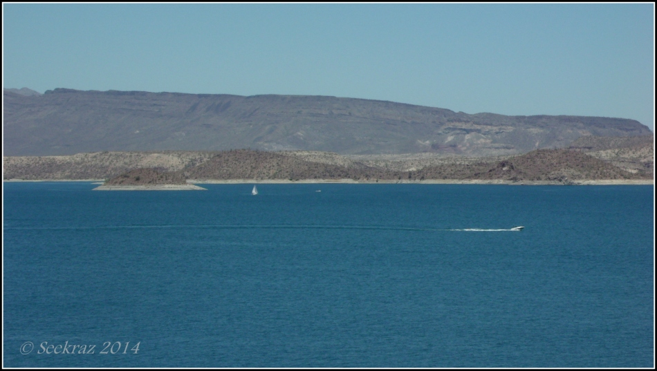 Speedboat on Lake Pleasant