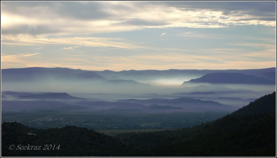 Verde Valley Smokey Sunrise