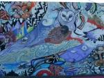 Hair Pollution mural panel3