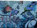 Hair Pollution mural panel5