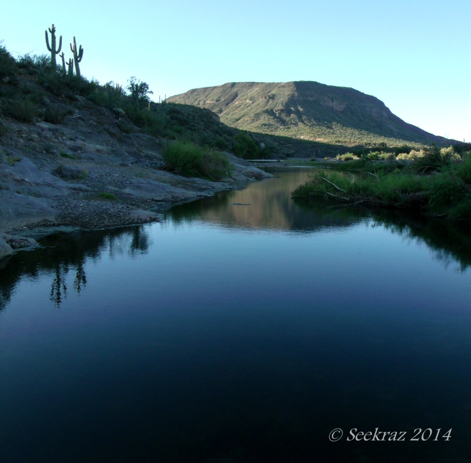 Agua Fria River morning